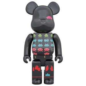 ベアブリック Bearbrick フィギュア space invaders 400% bearbrick figure black fermart-hobby