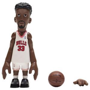 NBA フィギュア x coolrain nba legends chicago bulls scottie pippen figure white|fermart-hobby