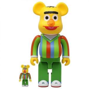 セサミストリート Sesame Street フィギュア sesame street bert 100% 400% bearbrick figure set yellow|fermart-hobby