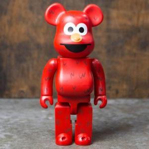 ベアブリック メディコム フィギュア・おもちゃ Medicom Medicom Sesame Street Elmo 400% Bearbrick Figure|fermart-hobby