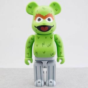 セサミストリート Sesame Street フィギュア sesame street oscar the grouch 400% bearbrick figure green|fermart-hobby