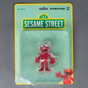 セサミストリート Sesame Street フィギュア udf sesame street elmo ultra detail figure red|fermart-hobby