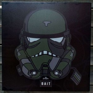 BAIT おもちゃグッズ Toys and Collectibles BAIT x David Flores Limited Edition Trooper Canvas Art Print|fermart-hobby