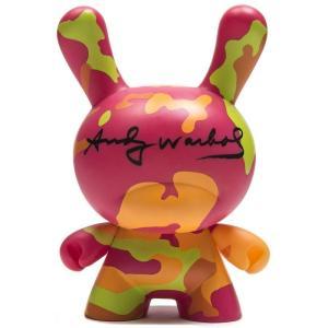 キッドロボット Kidrobot フィギュア x andy warhol 8 inch masterpiece camo dunny figure pink|fermart-hobby