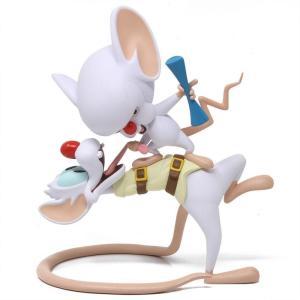 キッドロボット Kidrobot フィギュア pinky and the brain vinyl art figure white|fermart-hobby