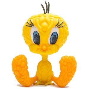 キッドロボット Kidrobot フィギュア x mark dean veca looney tunes tweety bird 8 inch medium art figure yellow fermart-hobby