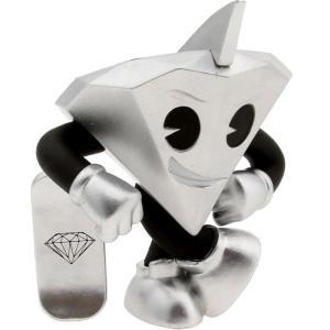キッドロボット Kidrobot フィギュア bait x x diamond supply co lil cutty 3 inch figure silver|fermart-hobby