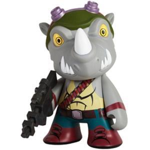 キッドロボット キッドロボット Kidrobot Kidrobot x TMNT Rocksteady 7 Inch Medium Figure (gray)|fermart-hobby