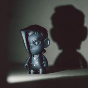 ストリートファイター Street Fighter フィギュア bait exclusive street fighter shadow charlie 3 inch figure black|fermart-hobby