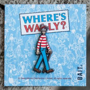 ウォーリーをさがせ! Wheres Waldo グッズ x dreamworks wheres wally pin blue|fermart-hobby