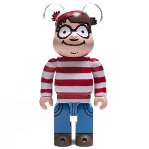ベアブリック Bearbrick フィギュア where's wally? wally 400% bearbrick figure red fermart-hobby