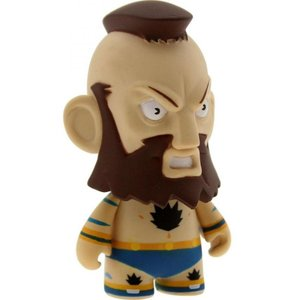 ストリートファイター キッドロボット Kidrobot Kidrobot Street Fighter 3 Inch Mini Series Zangief Figure - 1/20 Ratio|fermart-hobby