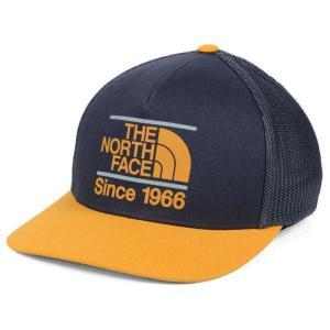 ザ ノースフェイス North Face メンズ キャップ トラッカーハット 帽子 The Keep It Structured 110 Trucker Adjustable Hat - Navy/Gold Navy fermart-hobby