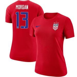 ナイキ Nike レディース Tシャツ レプリカユニフォーム トップス Alex Morgan US...