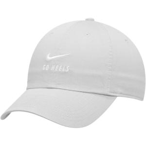 ナイキ Nike メンズ キャップ 帽子 North Carolina Tar Heels Big Swoosh Heritage 86 Adjustable Hat - Carolina Blue Light Blue|fermart-hobby