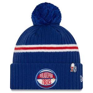 ニューエラ New Era メンズ ニット 帽子 Philadelphia 76ers 2019 N...
