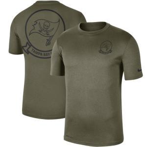 ナイキ Nike メンズ Tシャツ トップス Tampa Bay Buccaneers 2019 Salute to Service Sideline Seal Legend Performance T-Shirt - Olive|fermart-hobby