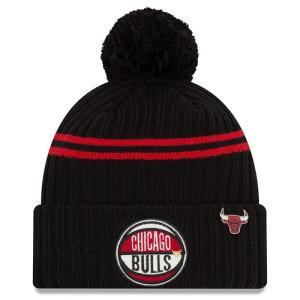 ニューエラ New Era メンズ ニット 帽子 Chicago Bulls 2019 NBA Dr...