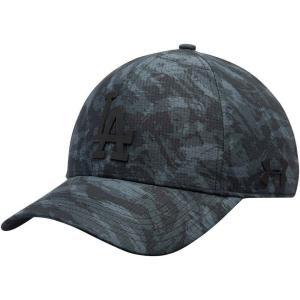 アンダーアーマー Under Armour メンズ キャップ 帽子 Los Angeles Dodgers Tonal Camo Performance Adjustable Hat - Charcoal|fermart-hobby