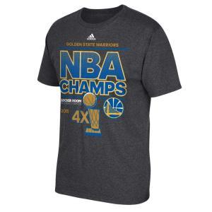 アディダス adidas メンズ Tシャツ トップス Golden State Warriors 2...