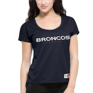 47ブランド '47 レディース Tシャツ トップス Denver Broncos Brand In...