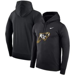 ナイキ Nike メンズ パーカー トップス VCU Rams Logo Therma Performance Hoodie - Black|fermart-hobby