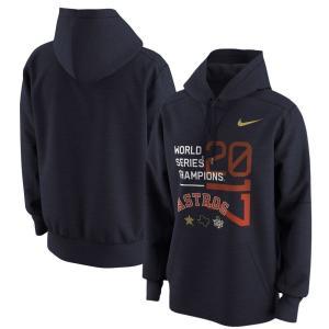 ナイキ Nike メンズ パーカー トップス Houston Astros 2017 World Series Champions Celebration Pullover Hoodie - Navy|fermart-hobby
