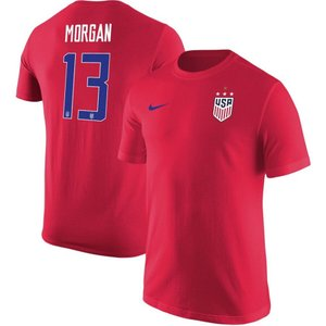 ナイキ Nike メンズ Tシャツ レプリカユニフォーム トップス Alex Morgan USWN...