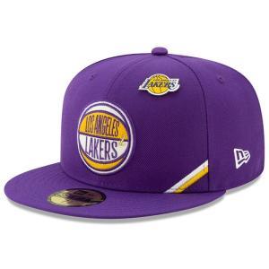 ニューエラ New Era メンズ キャップ 帽子 Los Angeles Lakers 2019 ...