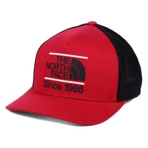 ザ ノースフェイス North Face メンズ キャップ トラッカーハット 帽子 The Keep It Structured 110 Trucker Adjustable Hat - Red/Black Red fermart-hobby