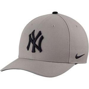ナイキ Nike メンズ キャップ 帽子 New York Yankees Classic Adjustable Performance Hat - Gray -|fermart-hobby