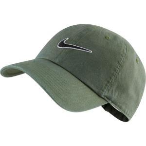 ナイキ Nike メンズ キャップ 帽子 Heritage 86 Essential Swoosh Adjustable Hat - Olive Olive|fermart-hobby