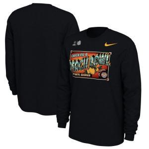 ナイキ Nike メンズ 長袖Tシャツ トップス LSU Tigers College Football Playoff 2019 Peach Bowl Bound Illustrations Long Sleeve T-Shirt - Black|fermart-hobby