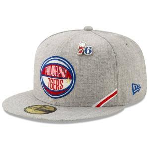 ニューエラ New Era メンズ キャップ 帽子 Philadelphia 76ers 2019 ...