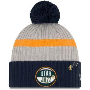 ニューエラ New Era メンズ ニット 帽子 Utah Jazz 2019 NBA Draft ...