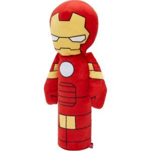 Marvel マーベル ペットグッズ 犬用品 おもちゃ 's Ironman Bottle Plush Squeaky Dog Toy|fermart-hobby