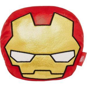 Marvel マーベル ペットグッズ 犬用品 おもちゃ 's Ironman Round Plush Squeaky Dog Toy|fermart-hobby