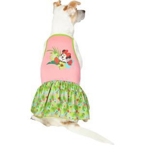 Disney ディズニー ペットグッズ 猫用品 ウェア Minnie Mouse Hawaiian Dog & Cat Dress|fermart-hobby