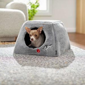 Disney ディズニー ペットグッズ 犬用品 ベッド・マット・カバー ベッド Pluto Covered Cat & Dog Bed, Gray|fermart-hobby