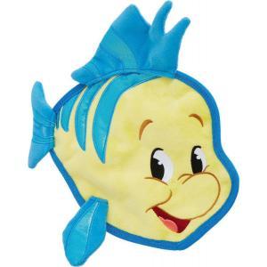Disney ディズニー ペットグッズ 犬用品 おもちゃ Flounder Flat Plush Squeaky Dog Toy|fermart-hobby