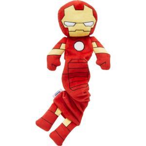 Marvel マーベル ペットグッズ 犬用品 おもちゃ 's Ironman Bungee Plush Squeaky Dog Toy|fermart-hobby