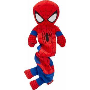 Marvel マーベル ペットグッズ 犬用品 おもちゃ 's Spider-Man Bungee Plush Squeaky Dog Toy|fermart-hobby