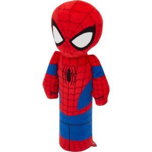 Marvel マーベル ペットグッズ 犬用品 おもちゃ 's Spider-Man Bottle Plush Squeaky Dog Toy|fermart-hobby