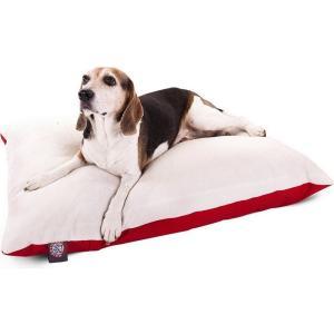 Majestic Pet マジェスティックペット ペットグッズ 犬用品 ベッド・マット・カバー ベッド Poly - Cotton Twill Sherpa Pillow Dog Bed|fermart-hobby