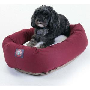 Majestic Pet マジェスティックペット ペットグッズ 犬用品 ベッド・マット・カバー ベッド Poly Cotton Sherpa Bagel Dog Bed|fermart-hobby