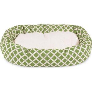 Majestic Pet マジェスティックペット ペットグッズ 犬用品 ベッド・マット・カバー ベッド Bamboo Sherpa Bagel Dog Bed|fermart-hobby