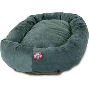 Majestic Pet マジェスティックペット ペットグッズ 犬用品 ベッド・マット・カバー ベッド Villa Micro-Velvet Bagel Dog Bed|fermart-hobby