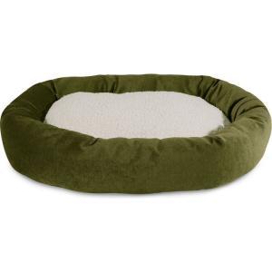 Majestic Pet マジェスティックペット ペットグッズ 犬用品 ベッド・マット・カバー ベッド Villa Micro-Velvet Sherpa Bagel Dog Bed|fermart-hobby