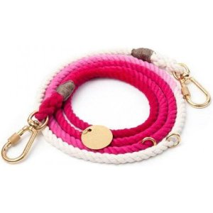 Found My Animal ファウンド マイ アニマル ペットグッズ 犬用品 首輪・ハーネス・リード リード Found Ombre Adjustable Rope Leash - Magenta fermart-hobby