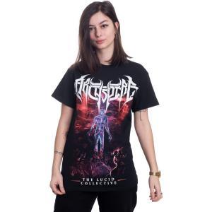 インペリコン Impericon レディース Tシャツ トップス - Lucid - T-Shirt black|fermart-hobby